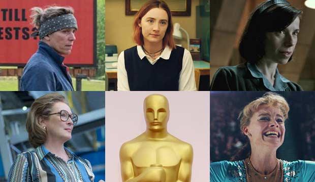Best Actress France McDormand Saoirse Ronan Sally Hawkins Meryl Streep Margot Robbie - نگاهی به شانسهای اصلی کسب جوایز اسکار 2018