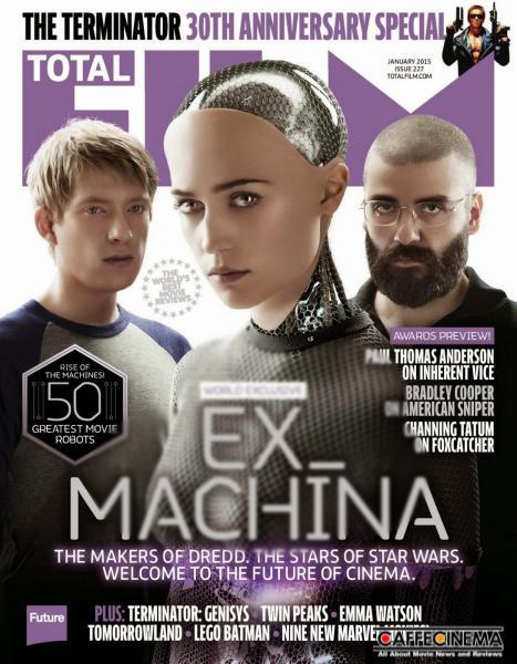 Alicia Vikander   Total Film Magazine USA January 2015 01 1 - کاورهای مهم ترین مجلات سینمایی جهان در آغاز سال 2015