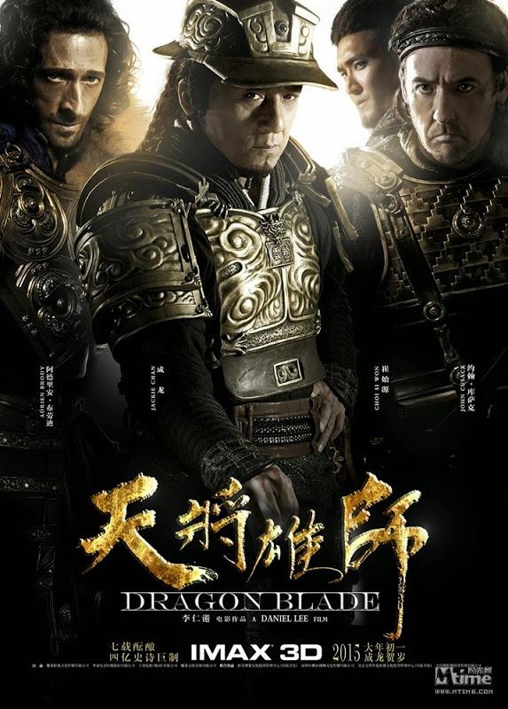 Dragon Blade IMAX Poster 2015 01 26 - آخرین اخبار از فیلم جدید جکی چان،آدرین برودی و جان کیوزک + تصاویر جدید