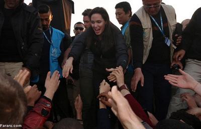 186280 479 - تصاویری از حضور آنجلینا جولی در کردستان عراق