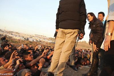 186282 314 - تصاویری از حضور آنجلینا جولی در کردستان عراق