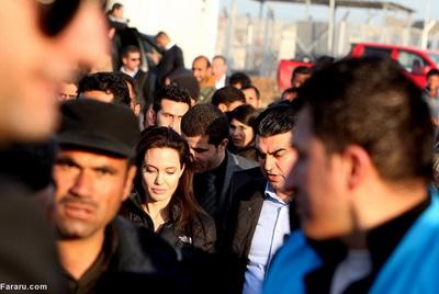 186284 139 - تصاویری از حضور آنجلینا جولی در کردستان عراق