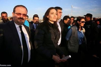 186287 686 - تصاویری از حضور آنجلینا جولی در کردستان عراق