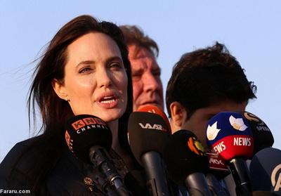 186290 936 - تصاویری از حضور آنجلینا جولی در کردستان عراق