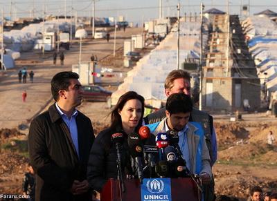 186293 182 - تصاویری از حضور آنجلینا جولی در کردستان عراق
