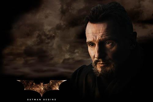 Batman Begins - معرفی ۱۰ فیلم برتر لیام نیسون