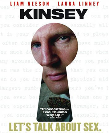 Kinsey - معرفی ۱۰ فیلم برتر لیام نیسون