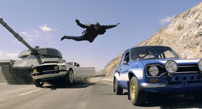 345636 - فروش ۳۴۰ میلیون دلاری فیلم «سریع و خشمگین ۷» تنها طی پنج روز در ۶۳ کشور جهان