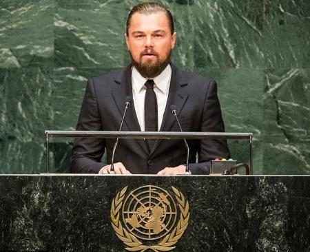 6119ffa62e48262a8552cb8581a382c1 M - دیکاپریو در اجلاس سالانه سازمان ملل متحد سخنرانی کرد و بالاخره به اینستاگرام پیوست