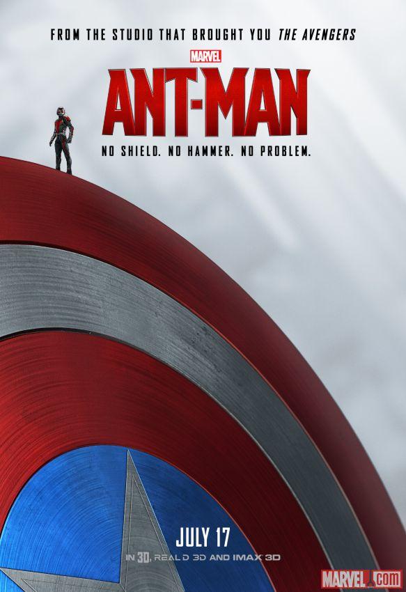 antman poster cap - منتظر مرد مورچه اى ٢ در سال ٢٠١٨ باشید