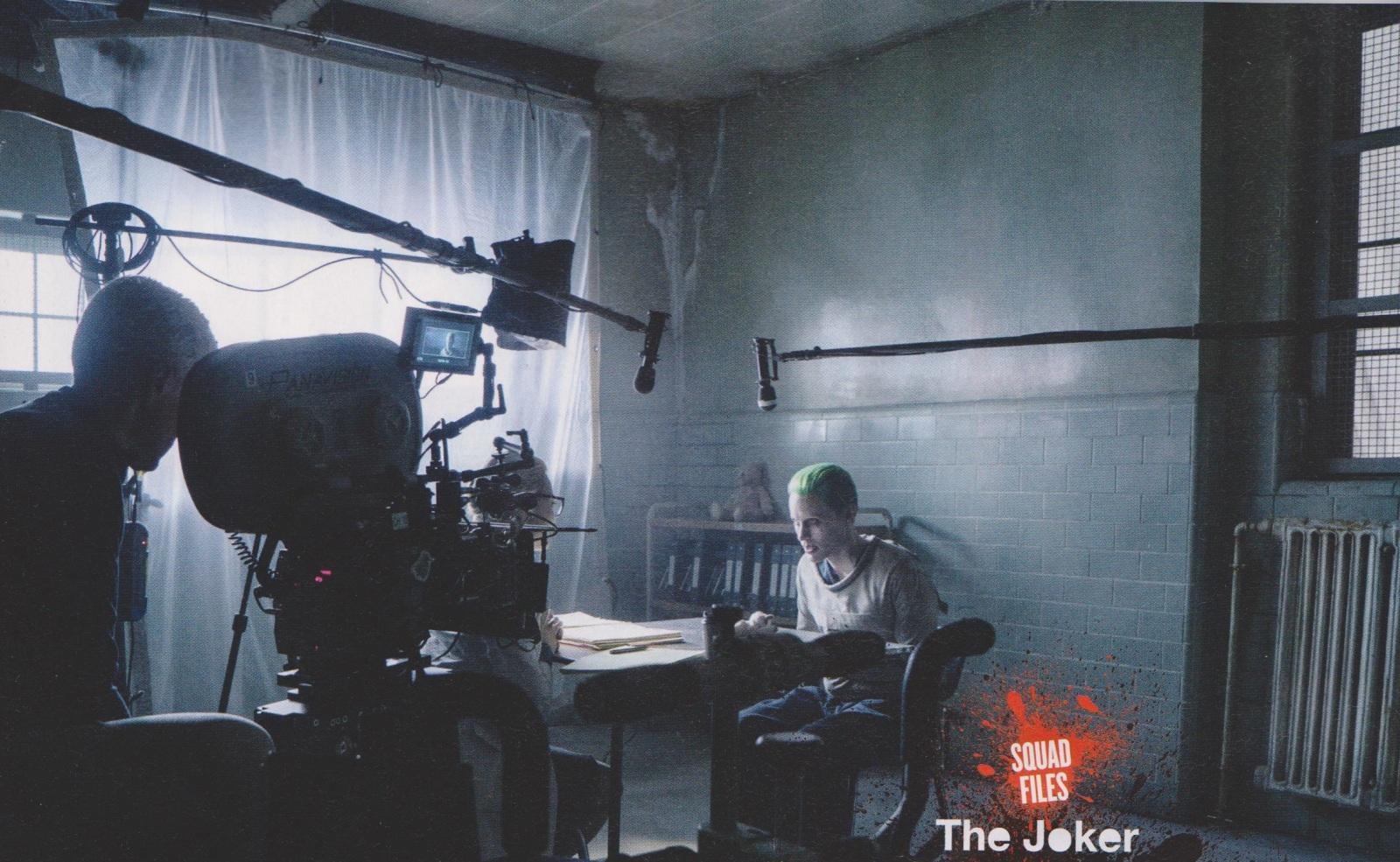 suicide squad movie jared leto - جوکر و جوخه ی انتحار روی مجله Empire