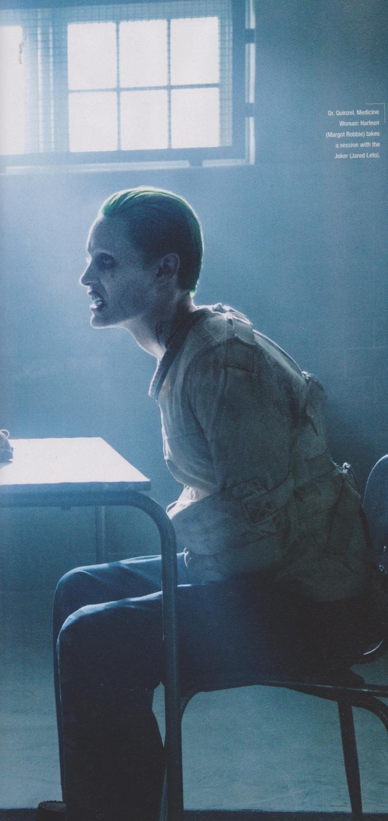 suicide squad movie joker - جوکر و جوخه ی انتحار روی مجله Empire