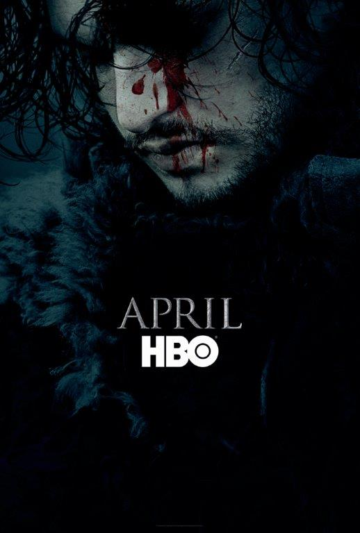 Game of Thrones Season 6 - بازگشت جان اسنو با پوستر فصل ششم سریال بازی تاج و تخت