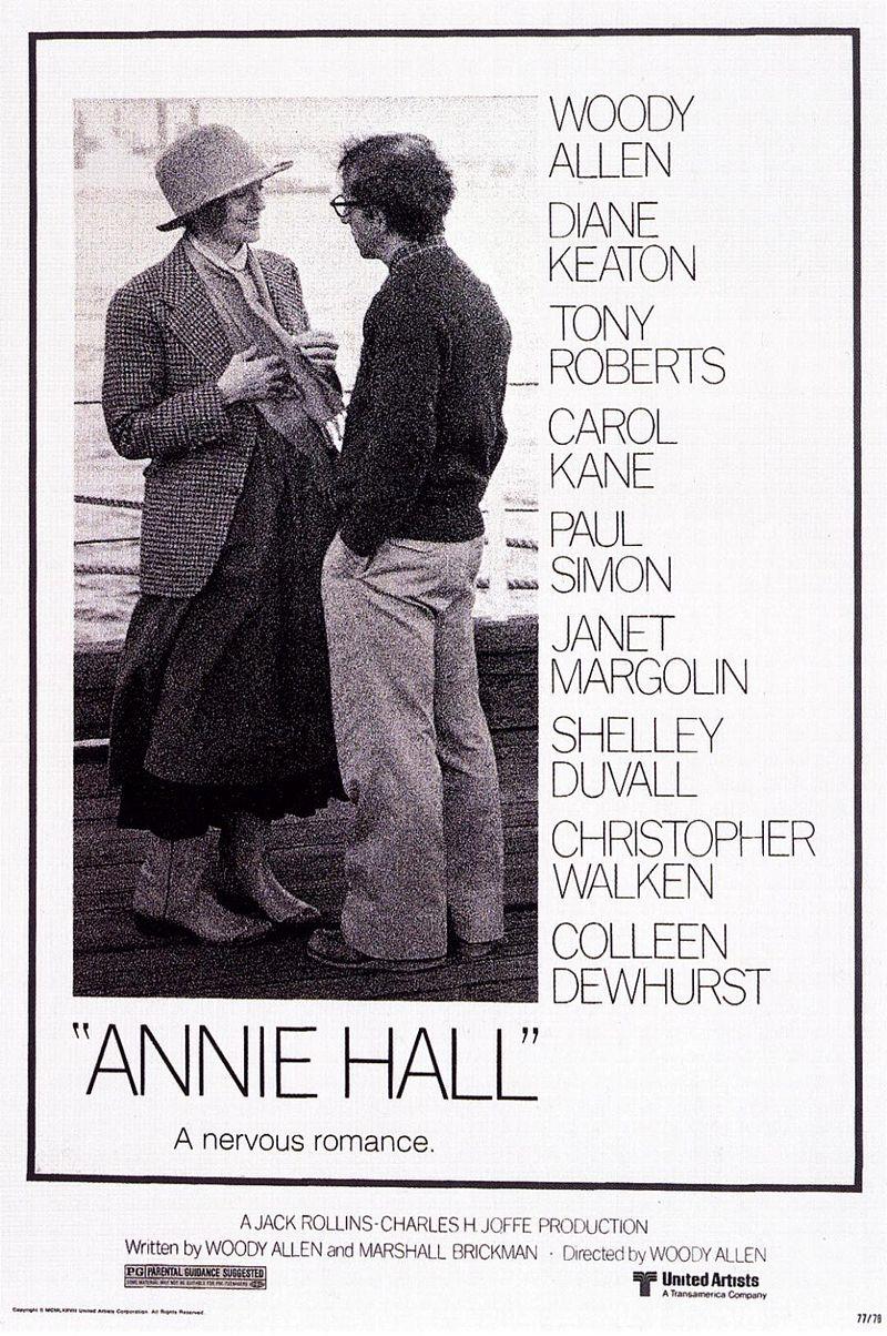 annie hall2 - خنده در ترین فیلم نامه های تاریخ سینما به انتخاب انجمن نویسندگان آمریکا