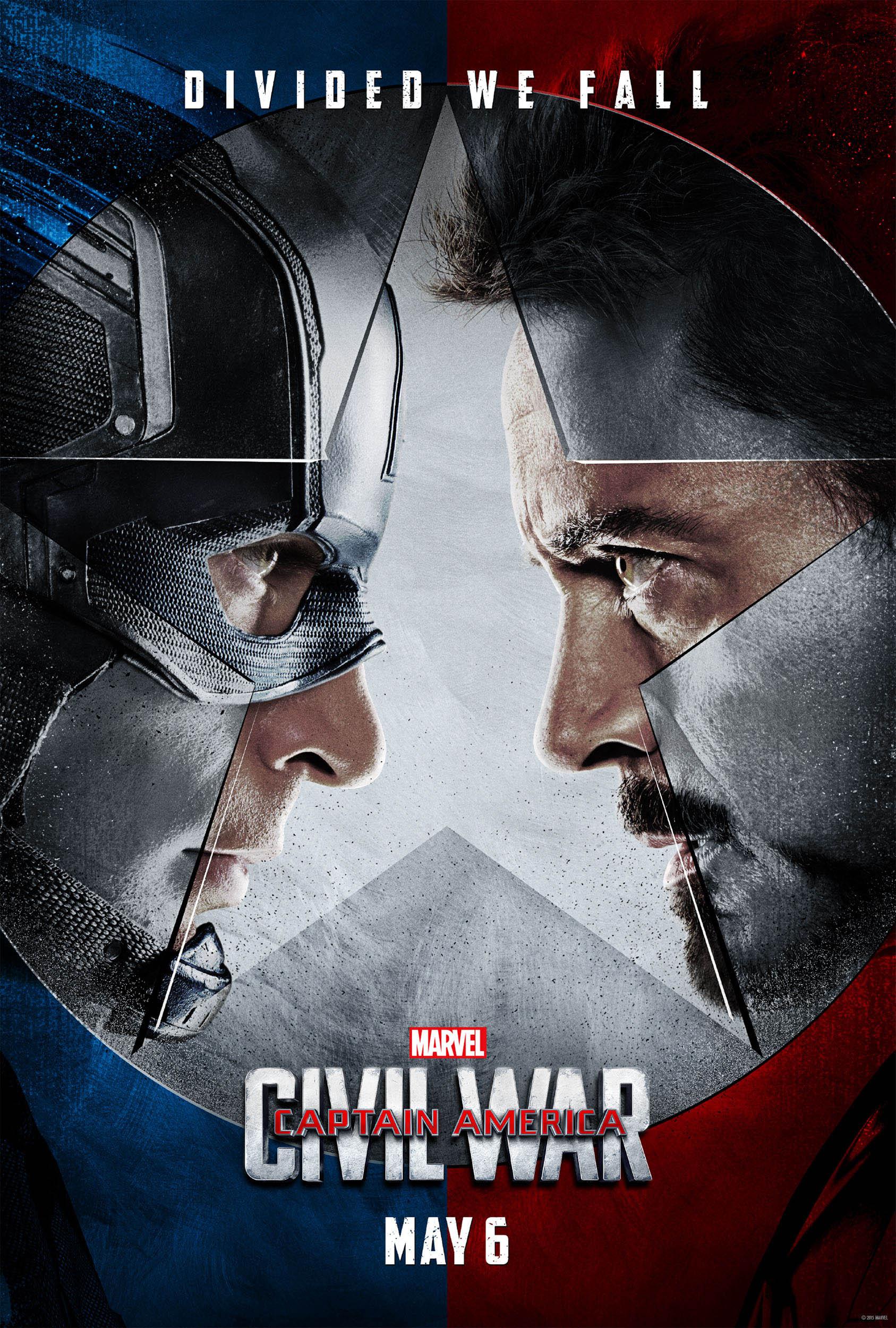 captain america civil war poster1 - انتشار اولین تریلر و پوسترهای رسمی «جنگ داخلی» مارول