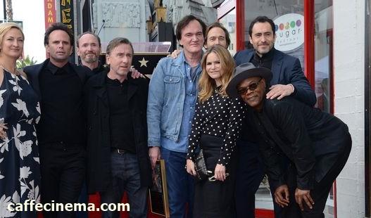 Quentin Tarantino2 - تارانتینو هم در بلوار شهرت هالیوود ستاره گرفت