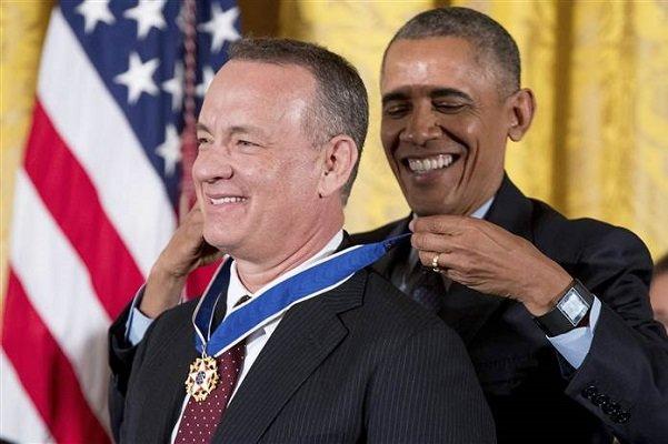 2283231 - اهدای بالاترین مدال افتخار آمریکا به چهرههای برجسته این کشور توسط اوباما