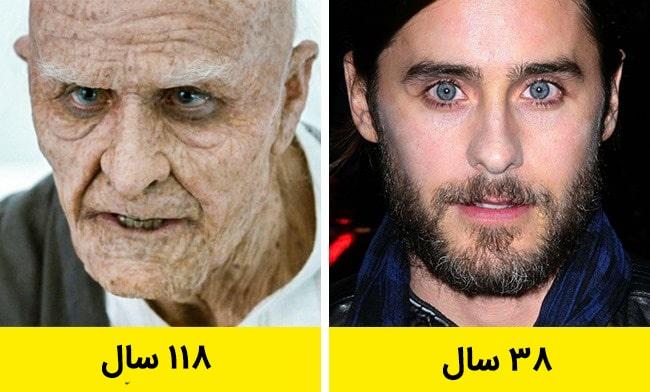 10 23 - بازیگرانی که نقش کاراکترهای بسیار پیرتر از خودشان را بازی کردند
