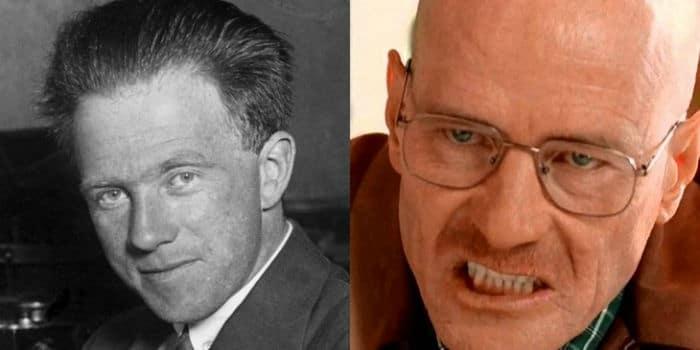Bryan Cranston as Walter White and Werner Heisenberg w700 - ۱۵ واقعیت جالبی که در مورد شخصیت «والتر وایت» در سریال «بریکینگ بد» نمی دانستید