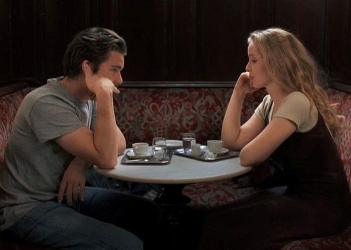 20 before sunrise 700x500 - بهترین فیلم های عاشقانه تاریخ سینما | 50 فیلم برتر
