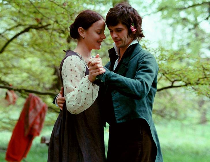 bright star film - 10 فیلم عاشقانه ای که بر اساس واقعیت ساخته شدند
