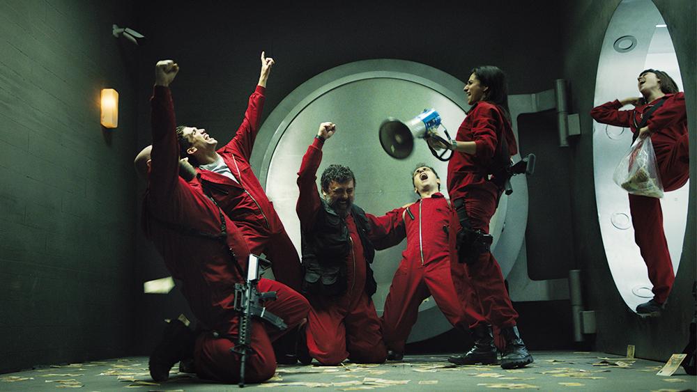 money heist netflix - بهترین سریال های غیر انگلیسی نتفلیکس